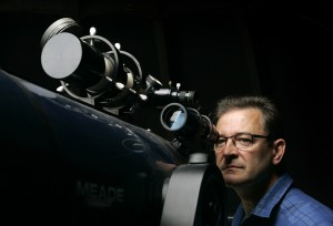 K. Read At the eyepiece of a telescope